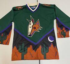 Phoenix Coyotes Peyote Kachina Desert Nhl Hockey Jersey Green Alternate Small S
