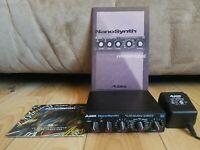 ALESIS NanoSynth MIDI keyboard synthesizer nano-synth module CD & Manual TESTED