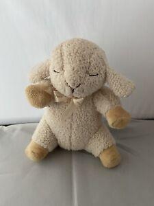 "Cloud B Baby Sleep Sheep 10"" Sound Machine Soother 4 Sounds Plush Lamb Crib"