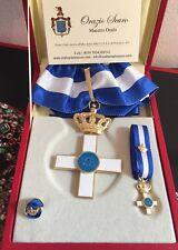 Set Commendatore Ordine al Merito di Savoia in argento 925