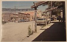 1970'S Photo Postcard Historic Mining Town Virginia City Montana Unposted