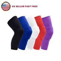 Basketball Knee Pads Sport Leg Sleeves Protector Gear Crashproof Antislip Guard