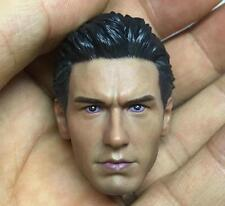 Custom james franco 1/6 tête pour Hot Toys bouffon vert spiderman harry osborn