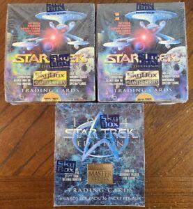 2-1993 Sky Box Master Series Star Trek Cards & 1-1994 Master Series Box SEALED