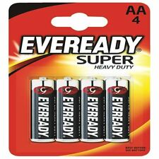 Eveready Super Heavy Duty AA Batteries (Pack of 4) R6B4UP [ER02502]