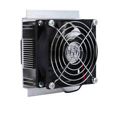 Thermoelectric Peltier Refrigeration Cooling System Cooler Fan for small space