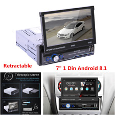 """7"""" 1Din Android 8.1 Car Stereo Radio MP5 Player GPS WIFI Mirror Link Bluetooth"""