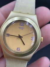 2000 Swatch Irony Aluminium watch Quartz Ladies