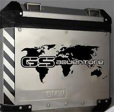 Aufkleber GS Adventure BMW Alu-Koffer Dekorsatz  R 1200 GS F650GS F700GS F800