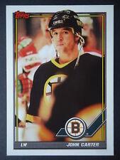 NHL 300 John Carter Boston Bruins TOPPS 1991/92