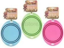 Beco Travel Bowl - Collapsable Silicone Food and Water for Dogs M Green