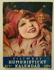 1939 Vilimkuv Humoristicky Kalendar Magazine, Czechoslovakia, Jos. R. Vilimek