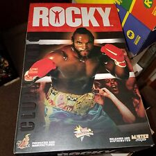 "Hot Toys Rocky III Clubber Lang (Mr T) 1/6 Scale, 12"" Action Figure, MIB"