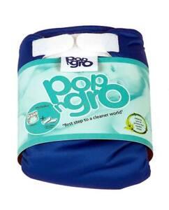 2 x pocket reusable nappies (7-20lbs) BLUE (50% discount)