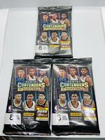 2019-20 PANINI CONTENDERS NBA BASKETBALL 3 PACK LOT BLASTER ZION MORANT RC PRIZM