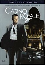 Casino Royale DVD 2 Disc Set Full Frame Jeffrey Wright Eva Green New