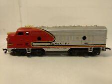 Vintage Tyco Santa Fe #4015 Silver Train Engine HO Gauge Scale tr956