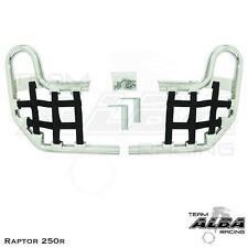 Yamaha Raptor 250 125  Nerf Bars   Alba Racing    Silver Bar Black 192 T1 SB