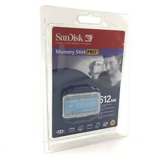 SanDisk Memory Stick PRO 512MB Magic Gate  Sealed Package
