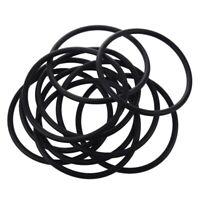 10 Stueck 90mm x 5mm Schwarz Nitrilkautschuk O-Ring Dichtung NBR Gummimuffe W6E8