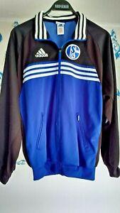 Schalke 04 Trainingsanzug Original von Addidas Größe 6 = 50 Rarität 2006