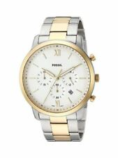FOSSIL 44MM NEUTRA CHRONOGRAPH TWO-TONE STAINLESS STEEL Men's Watch FS5385 NEW