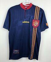 SPAIN NATIONAL 19961998 AWAY FOOTBALL JERSEY CAMISETA SOCCER  SHIRT VINTAGE