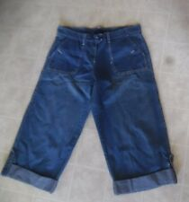 New York and Company Womens Capri Jeans Size 16 100% Cotton