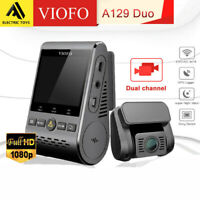 Viofo A129 Duo 2Lens 2 Channel Dash Camera Twin SONY Sensr 5GHz WIFI GPS Dashcam
