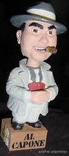 AL CAPONE WHITE JACKET BOBBLEHEAD DOLL MOBSTER MOB GANSTER ROCKIN SCARFACE LT ED