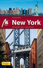REISEFÜHRER NEW YORK Michael Müller Verlag + Stadtplan UNGELESEN, wie neu