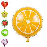 2pcs fruits feuille d'hélium ballons anniversaire décoration de mariage