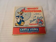 Vintage 1950s 8MM Woody Woodpecker Film #458 The Screwball from Castle Films