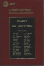 Unix System Readings & Applications Vol Ii by At&T 1986 ~ old computer software