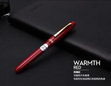 Classic Japan Pilot 78G Fountain Pens Screw Cap 22K Gold Nib Fine Lacquered Red