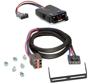 Trailer Brake Control for 99-04 Ford F-250 F-350 F-450 F550 Super Duty w/ Wiring