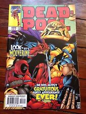 Deadpool #27 April 1999 breaks 4th wall 1st Deadpool talks directly to readers