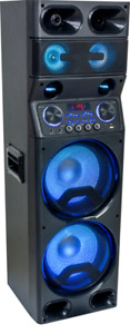 "Ibiza Sound TS450 2 x10"" Sound System 450W LED LED Speaker PA DJ Party BLUETOOTH"
