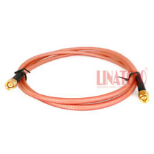 1 meter double shield low loss Rg142 coaxial Sma male to Sma male jumper cable