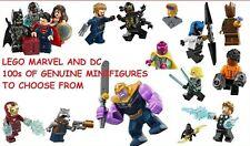LEGO MARVEL & DC Minifigures Genuine 2019 Super Hero Avengers Justice League m2