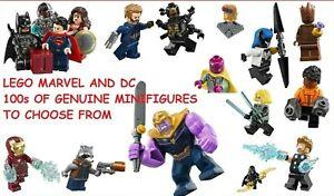 Genuine LEGO MARVEL & DC Minifigure 2019 Super Hero Avengers Justice League