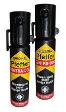 2x TW1000 Pfeffer-Contra DOG 30ml Pfefferspray Tier- Abwehrspray (100ml=26,50)