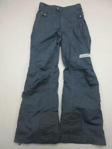 Spyder Size S(29) Mens Black Athletic Zip Pockets Nylon Snow Ski Pants T423