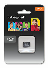 Integral 2GB Micro SD Card MicroSD memory Card