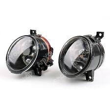 Pair Front Bumper Convex Lens Fog Light For VW MK5 Golf Jetta Bora 2005-2010 E1