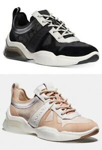 COACH Signature CitySole Runners Sneakers Shoes G5048 G5047
