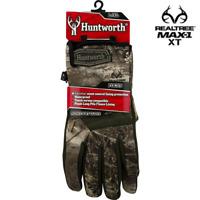 "Hunting Gloves Men's L/XL Huntworth ""Focus"" Midweight Camo Realtree MAX-1 XT"