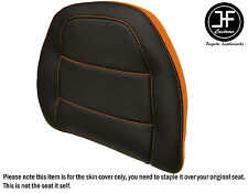 STYLE2 ORANGE BLACK VINYL CUSTOM FOR HONDA GOLDWING GL 1500 88-00 BACKREST COVER