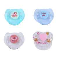 4PCS Magnetic Pacifier Reborn Doll Supplies Dummy Pacifier Magnet Reborn Baby