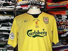 LIVERPOOL FC away 2004/05 shirt - Steve GERRARD #17 - England-Reebok-Jersey